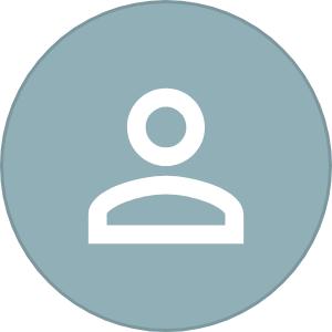 Icon mit Grafik einer Person(das wer)